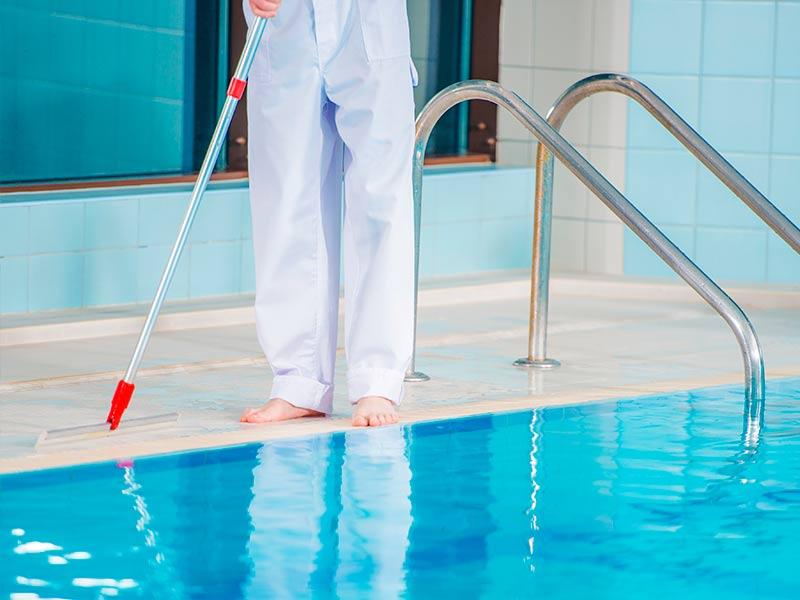 Cómo prevenir que aparezcan algas en la piscina
