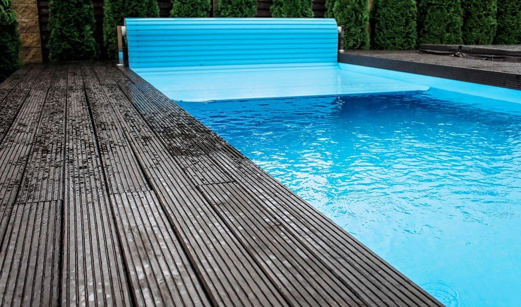 cobertor de piscina automático
