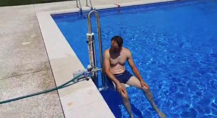 sillas hidráulicas para piscinas